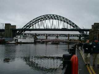 Tyne Bridge, rainy December afternoon 2001